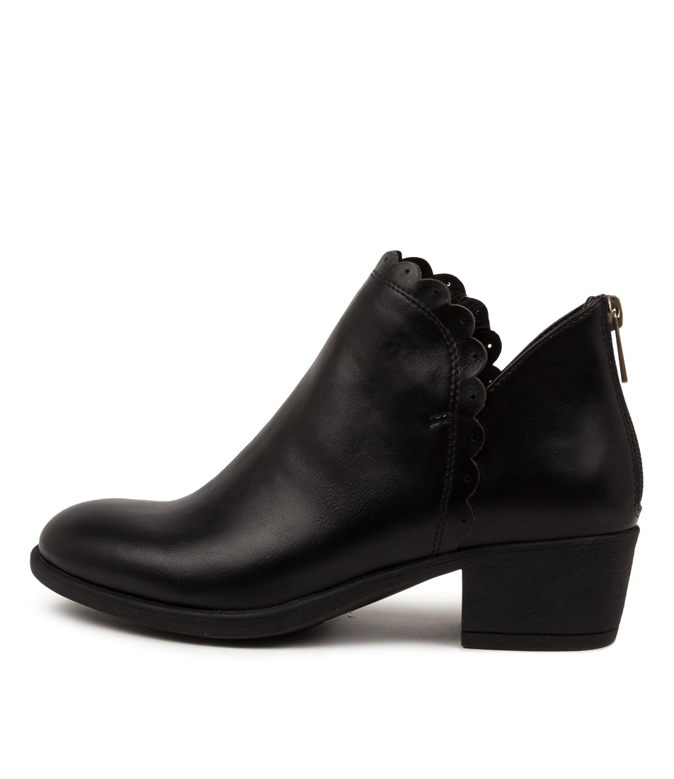 Buy I Love Billy Aceton Black Sole Ankle Boots online with free shipping