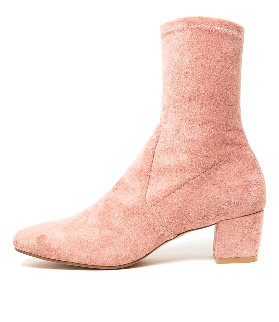 Buy I Love Billy Haselee Blush Calf Boots online with free shipping