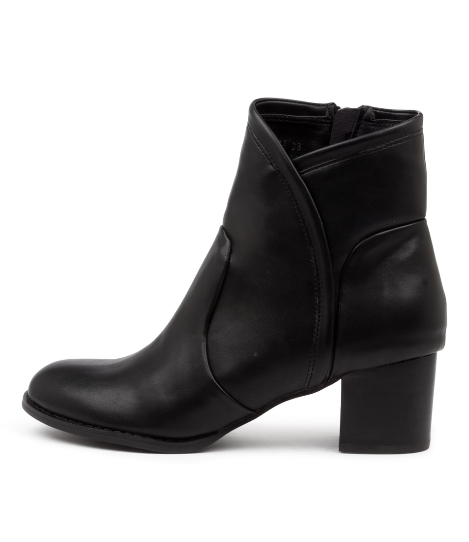 Buy I Love Billy Jovita Black Heel Ankle Boots online with free shipping