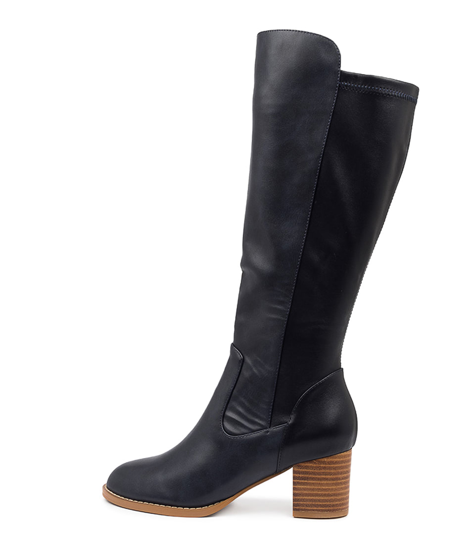 Buy I Love Billy Judd Navy Navy Long Boots online with free shipping