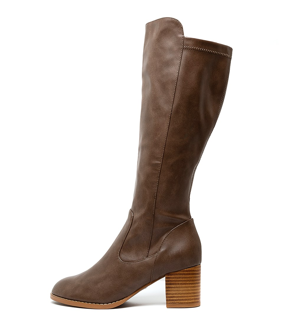 Buy I Love Billy Judd Taupe Taupe Long Boots online with free shipping