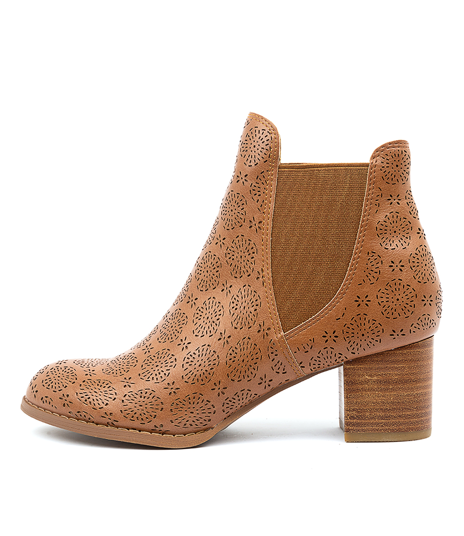 Buy I Love Billy Judson Tan Ankle Boots online with free shipping