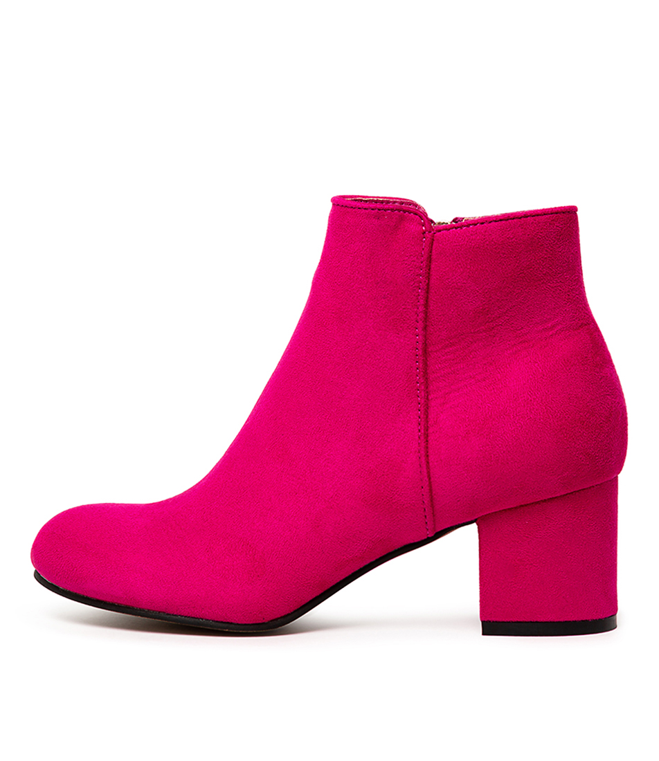 Buy I Love Billy Karda Fuchsia Ankle Boots online with free shipping
