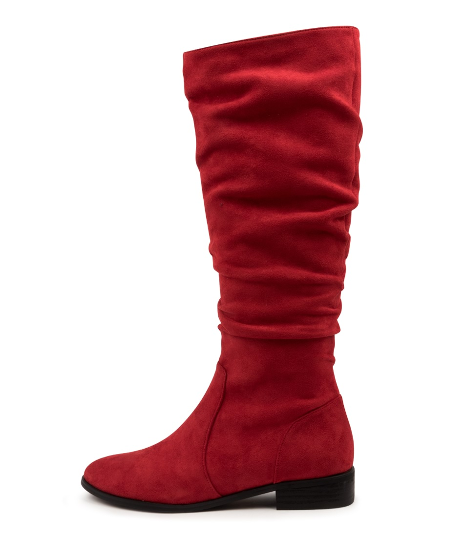 Buy I Love Billy Lirama Red Long Boots online with free shipping