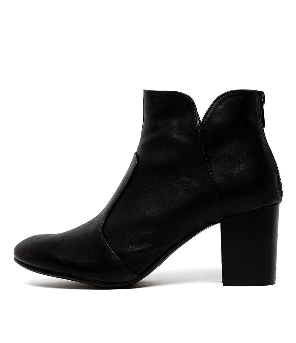 Buy I Love Billy Mahlon Black Ankle Boots online with free shipping