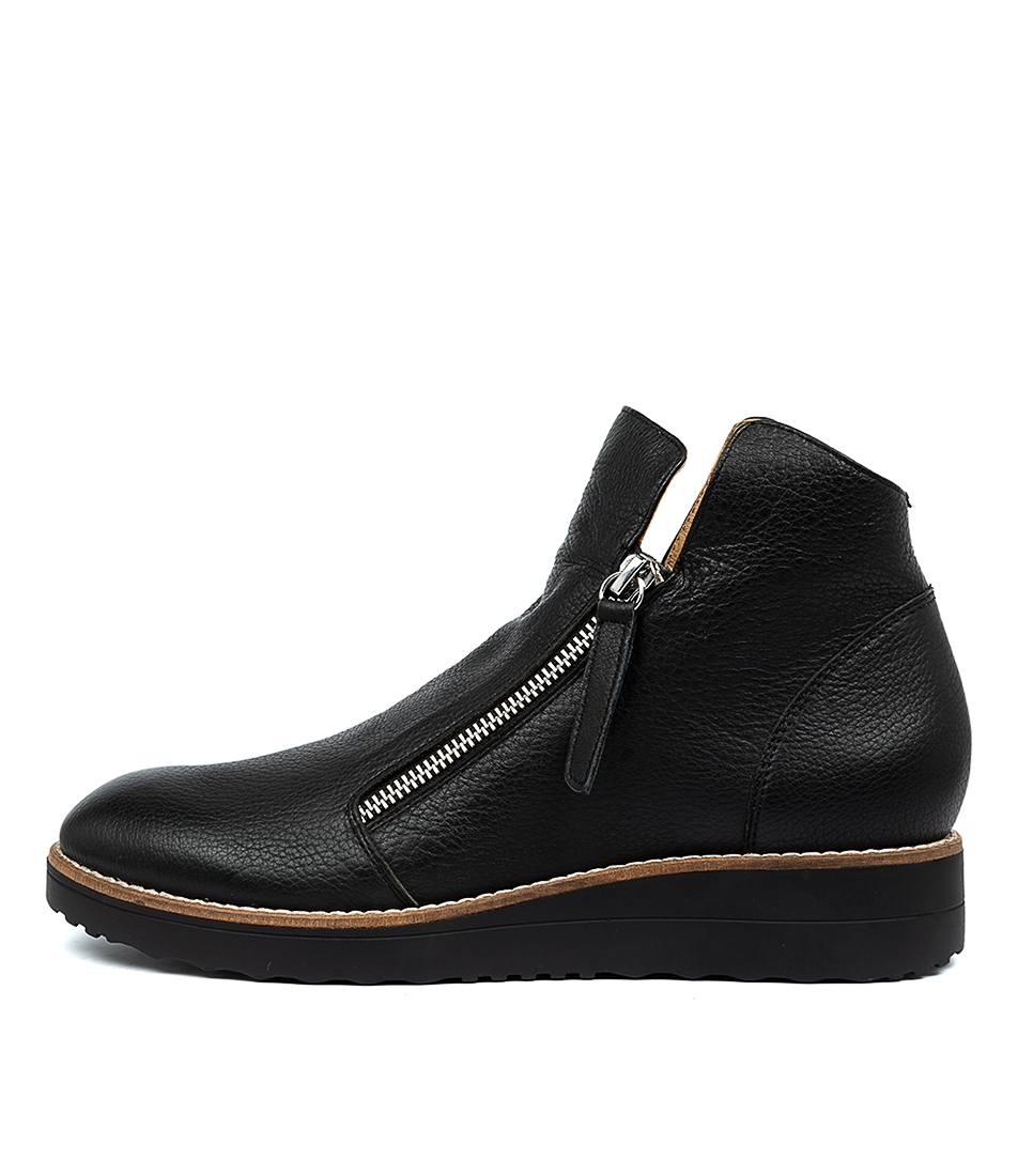 Buy I Love Billy Orie Black Black Sole Ankle Boots online with free shipping