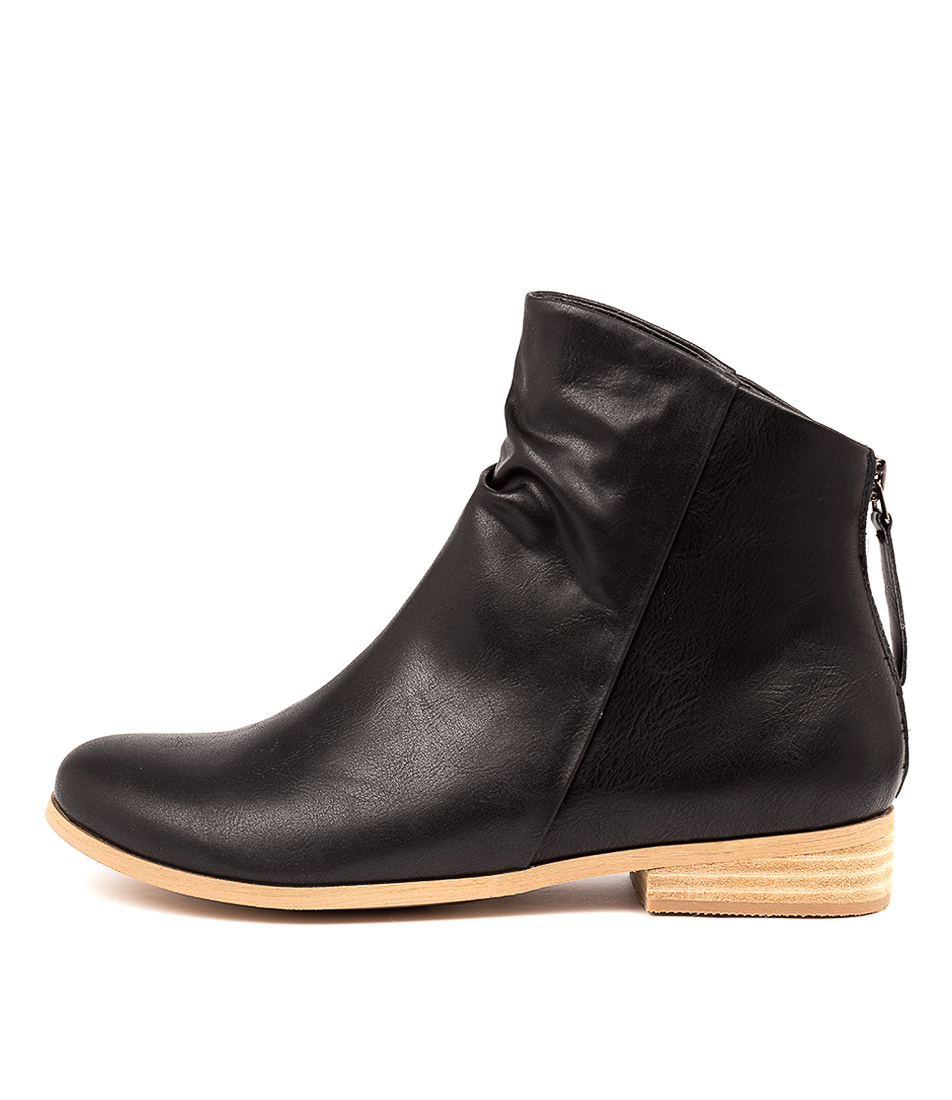 Buy I Love Billy Quiller Black Ankle Boots online with free shipping