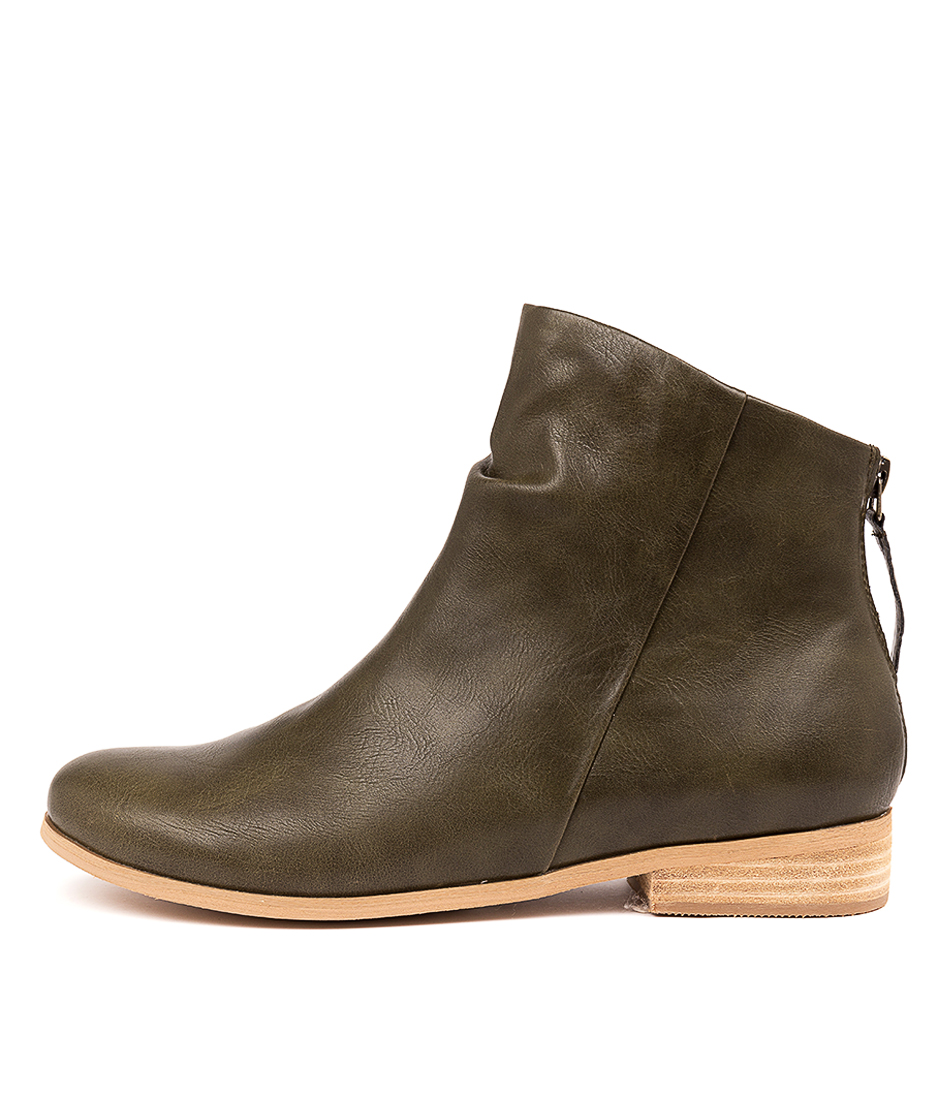 Buy I Love Billy Quiller Moss Ankle Boots online with free shipping