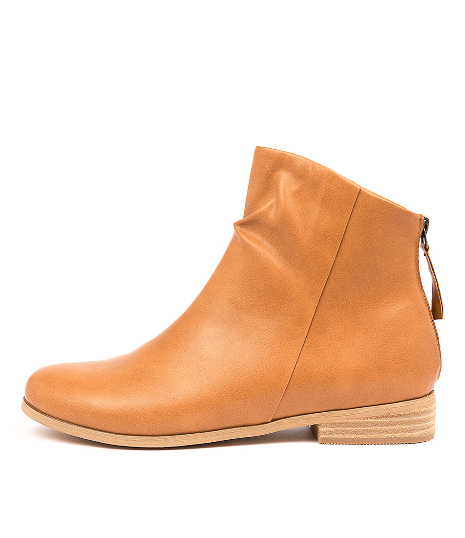Buy I Love Billy Quiller Tan Ankle Boots online with free shipping
