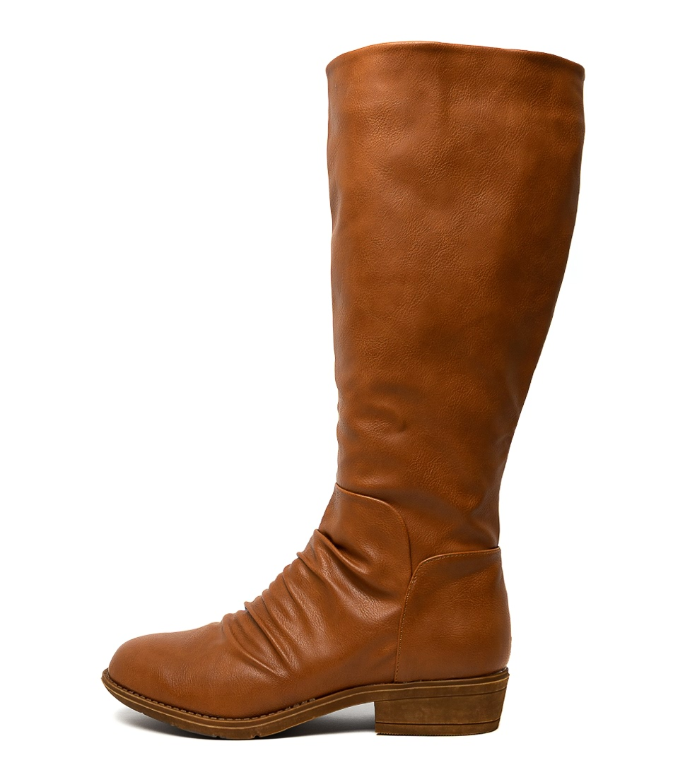 Buy I Love Billy Rexit Tan Long Boots online with free shipping