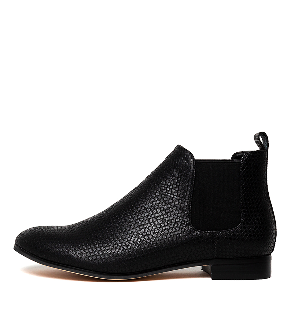 Buy I Love Billy Ricks Black Ankle Boots online with free shipping