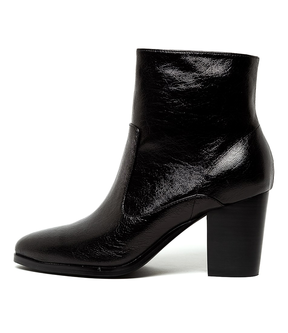 Buy I Love Billy Tanner Black Metallic Dress Ankle Boots online with free shipping