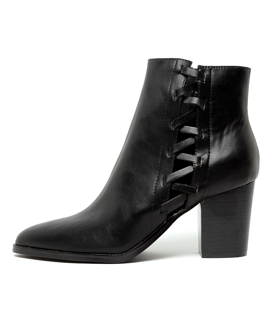 Buy I Love Billy Tenley Black Ankle Boots online with free shipping