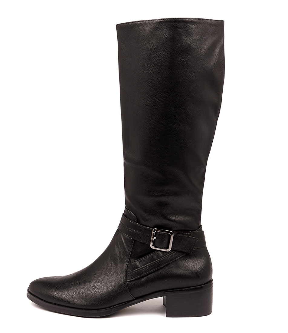 Buy I Love Billy Thedra Black Long Boots online with free shipping