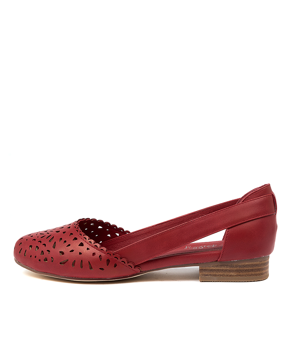 Buy I Love Billy Alkoxy Il Red Flats online with free shipping