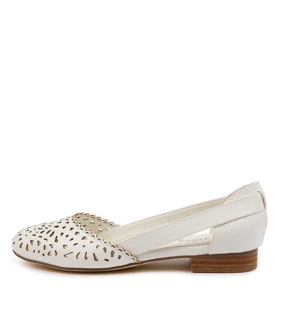 Buy I Love Billy Alkoxy Il White Flats online with free shipping