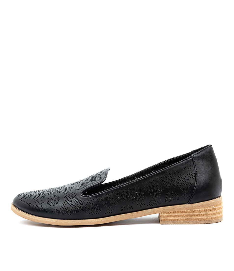 Buy I Love Billy Qurit Il Black Flats online with free shipping