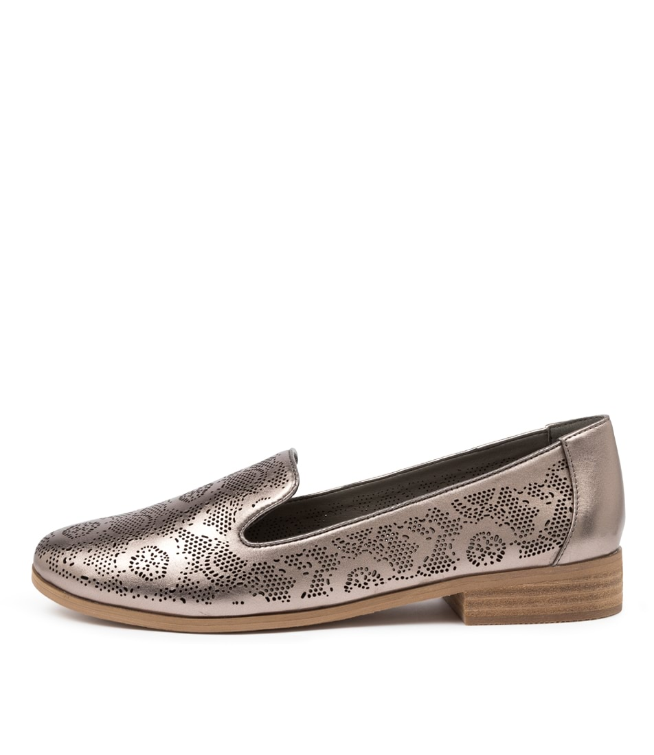 Buy I Love Billy Qurit Il Pewter Flats online with free shipping