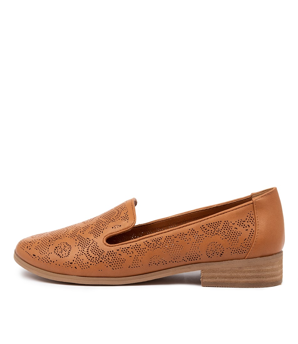 Buy I Love Billy Qurit Il Tan Flats online with free shipping
