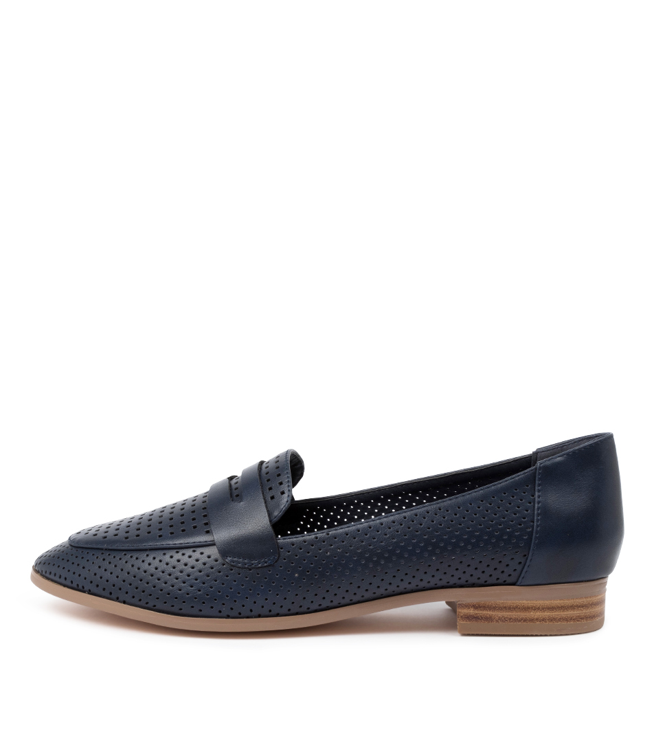 Buy I Love Billy Riller Il Navy Flats online with free shipping