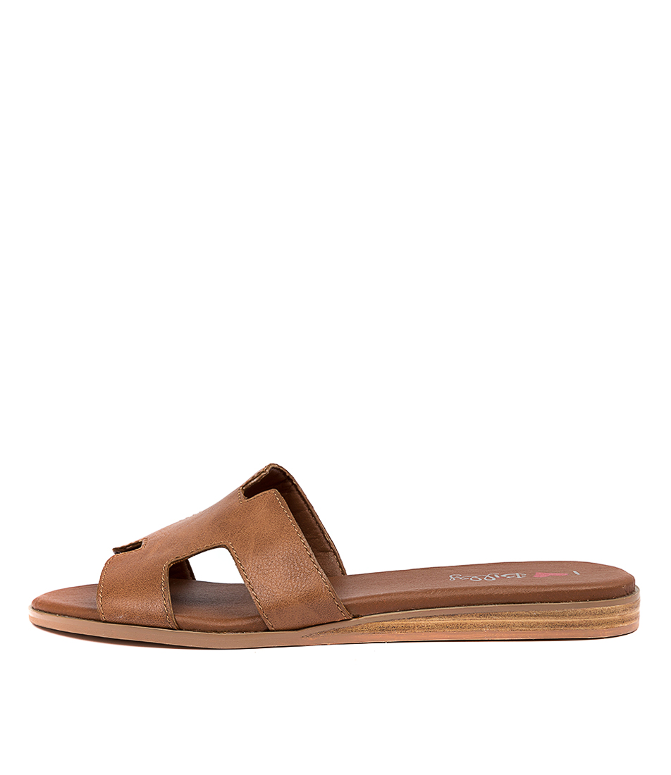 Buy I Love Billy Onest Il Tan Flat Sandals online with free shipping