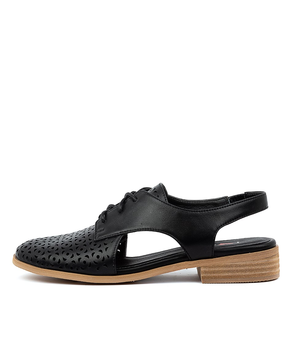 Buy I Love Billy Qaimo Il Black Flats online with free shipping
