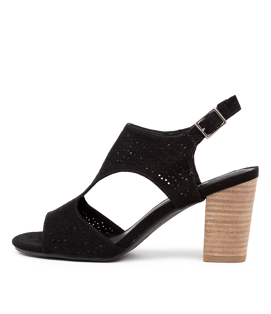 Buy I Love Billy Ferraz Il Black Heeled Sandals online with free shipping