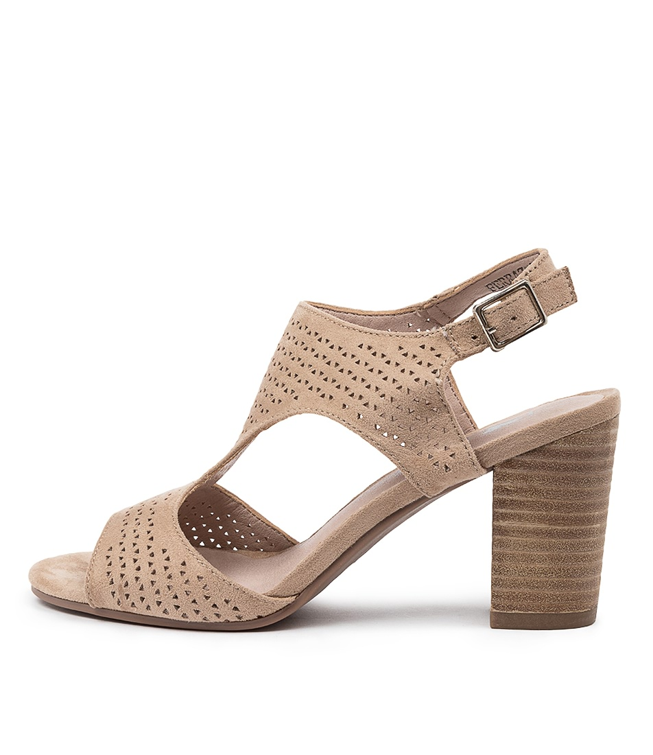 Buy I Love Billy Ferraz Il Taupe Heeled Sandals online with free shipping
