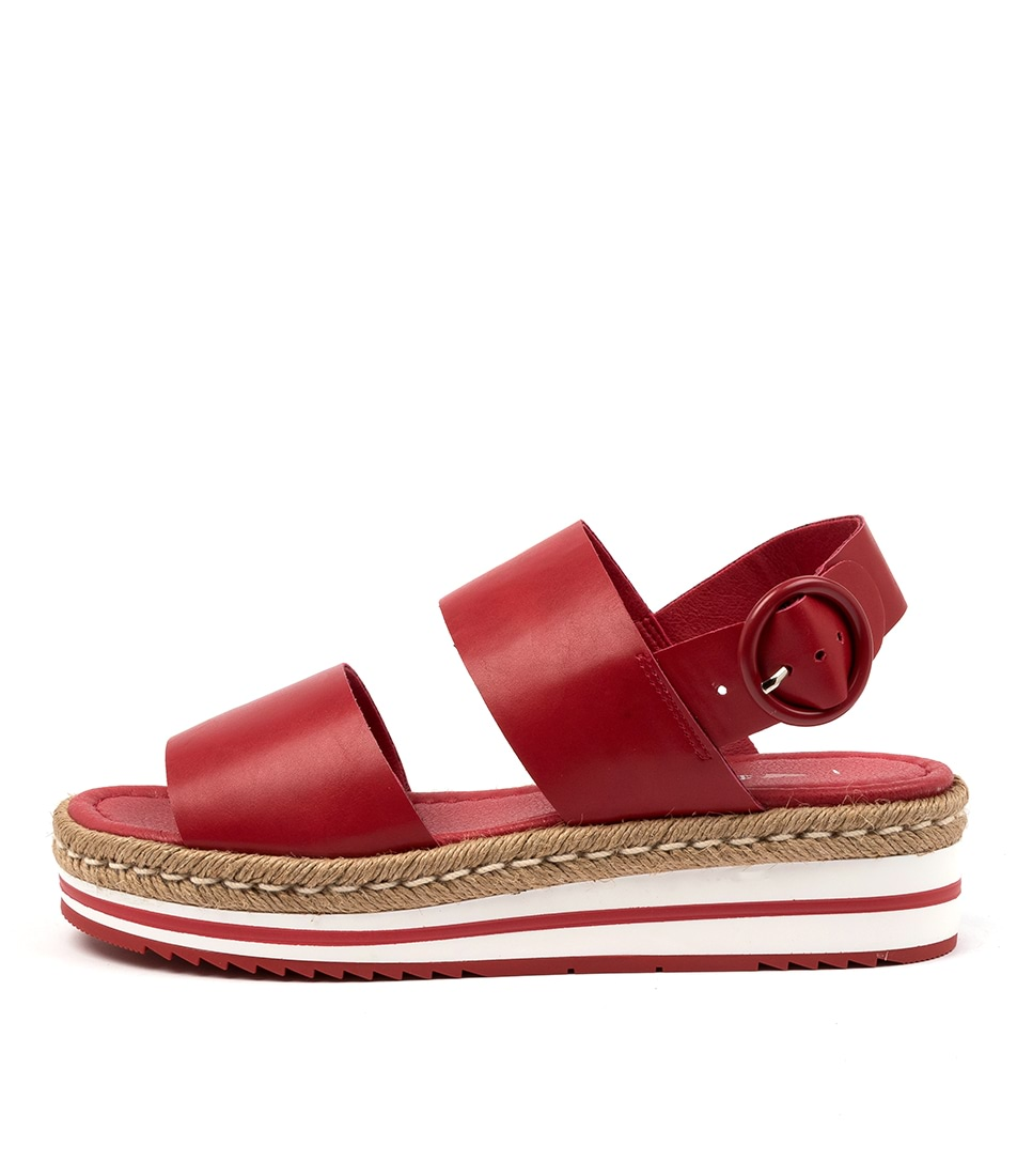 Buy I Love Billy Attica Il Cherry Flat Sandals online with free shipping
