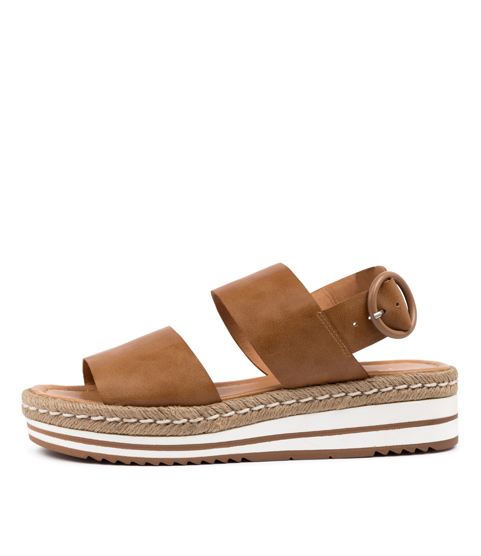 Buy I Love Billy Attica Il Tan Flat Sandals online with free shipping