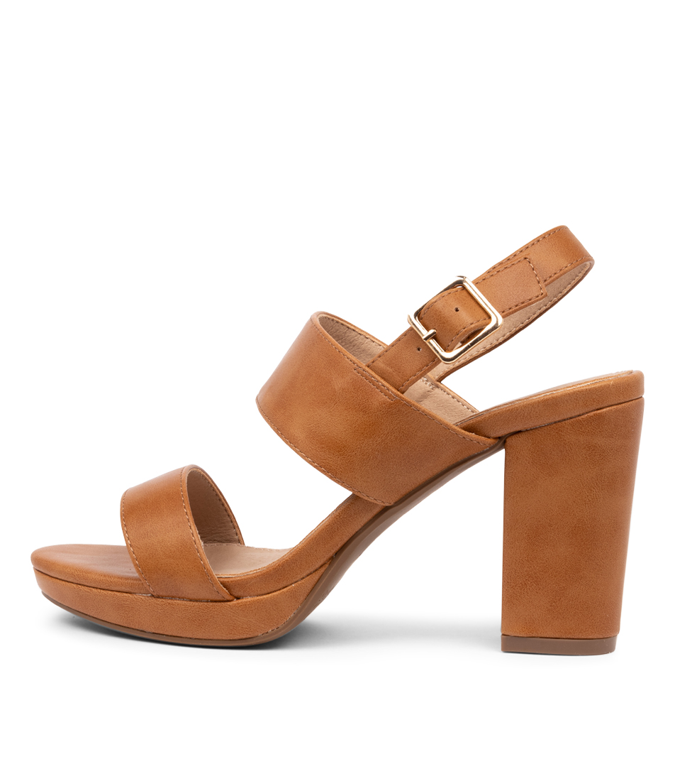 Buy I Love Billy Boboa Il Tan Heeled Sandals online with free shipping