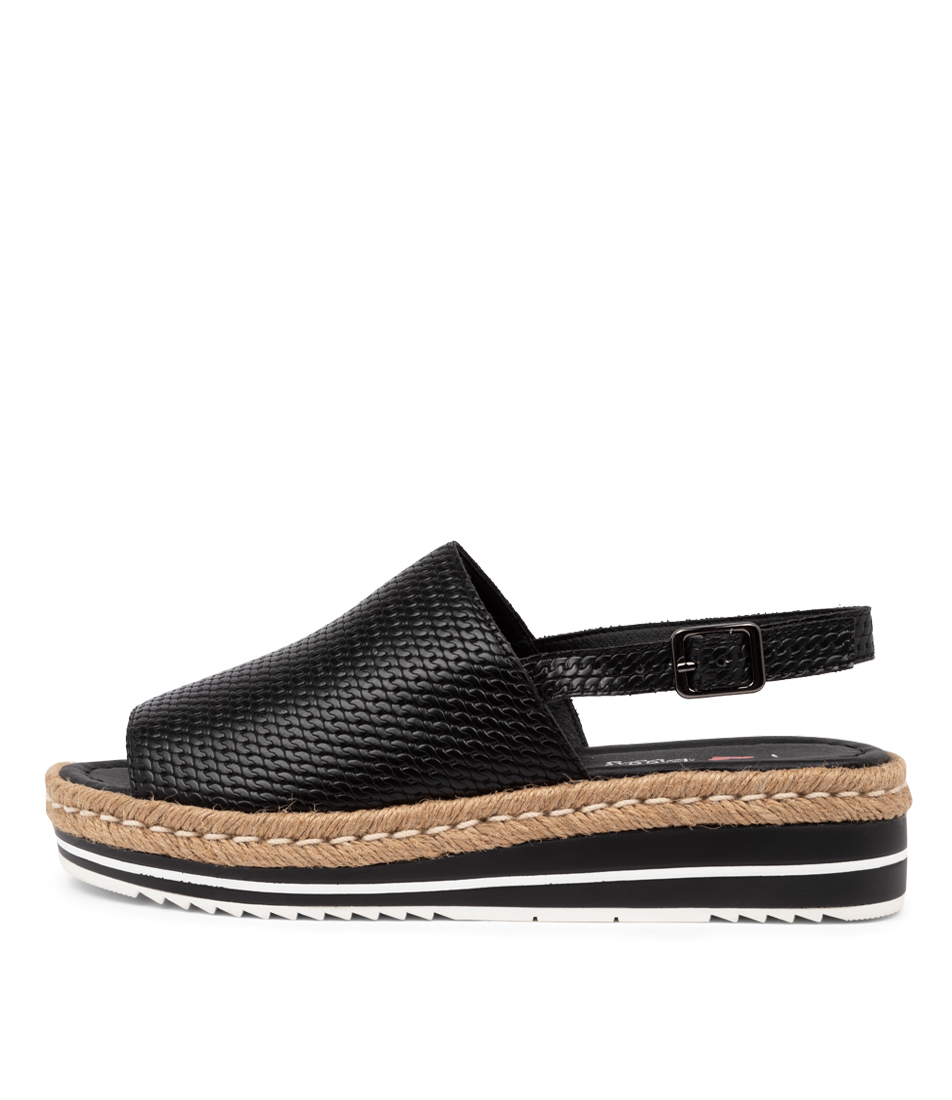Buy I Love Billy Amai Il Black Chain Flat Sandals online with free shipping