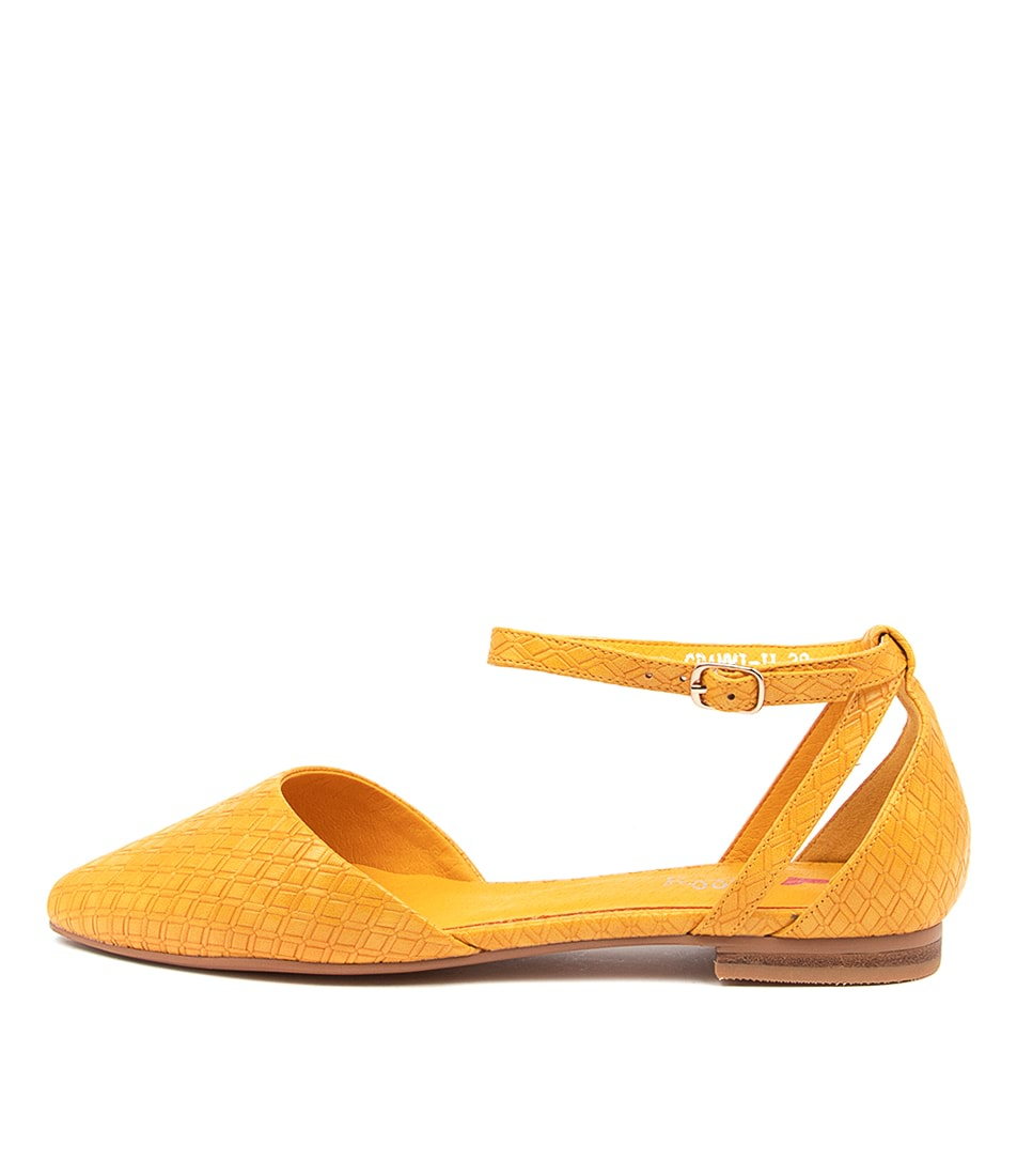 Buy I Love Billy Grammi Il Yellow Diamond Flats online with free shipping