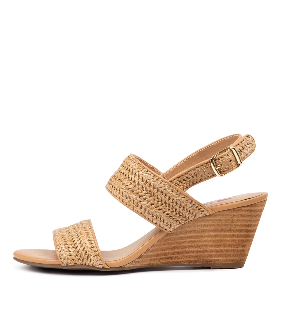 Buy I Love Billy Glyphic Il Natural Natural Heeled Sandals online with free shipping