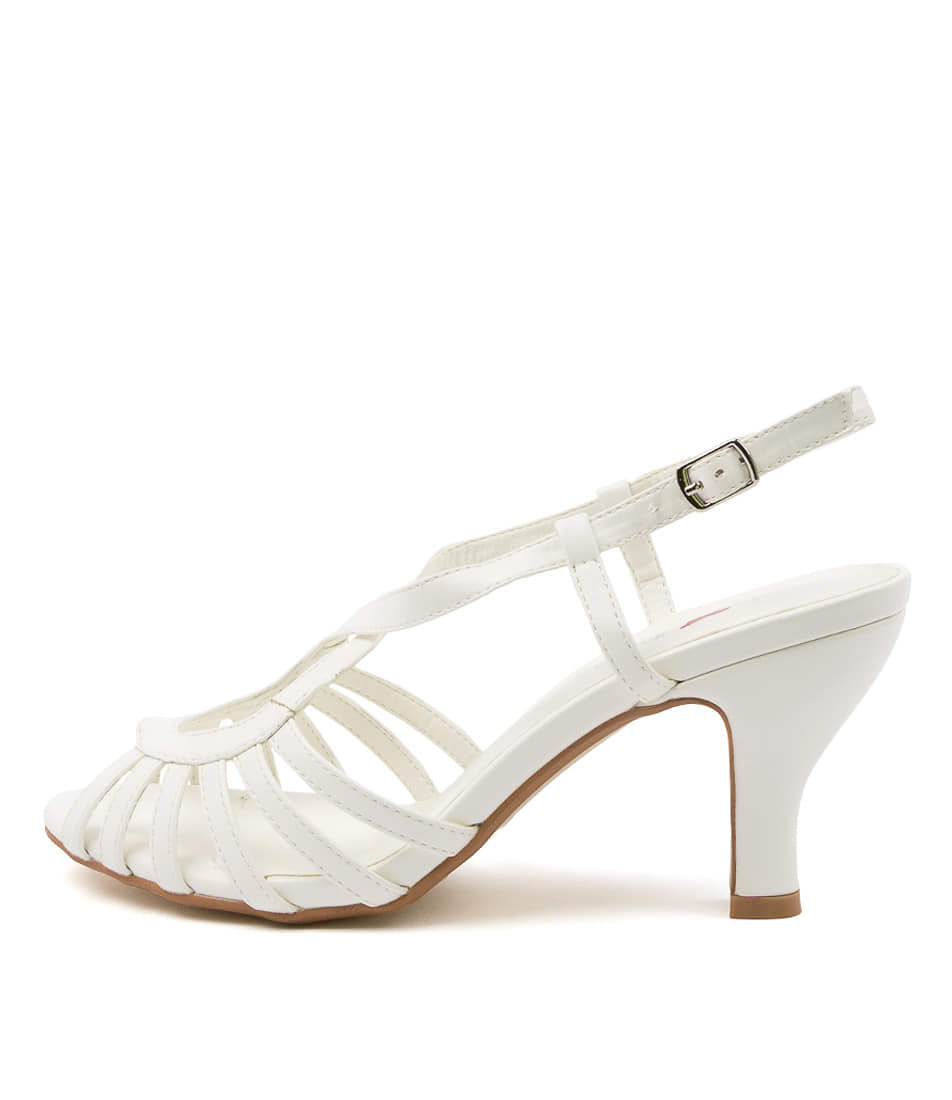 Buy I Love Billy Amunda Il White Heeled Sandals online with free shipping