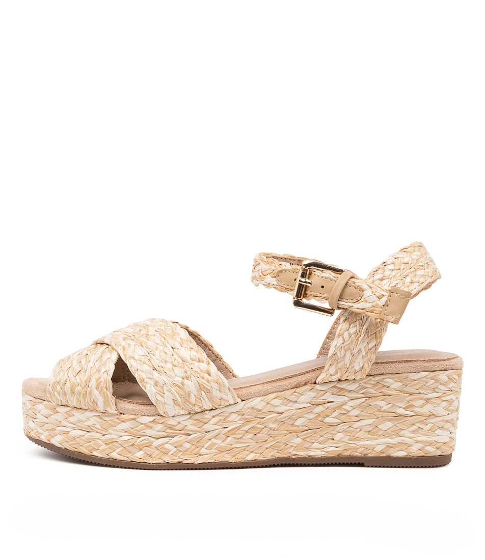 Buy I Love Billy Jimban Il Natural Flat Sandals online with free shipping