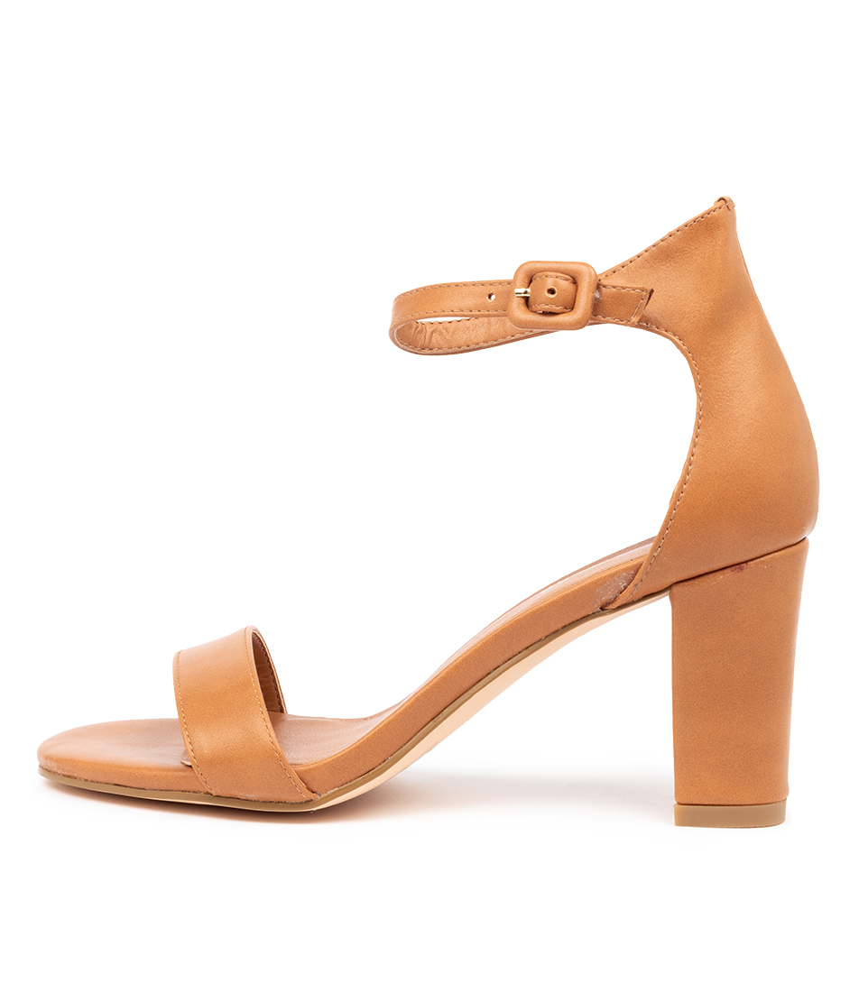 Buy I Love Billy Gampi Il Tan Heeled Sandals online with free shipping