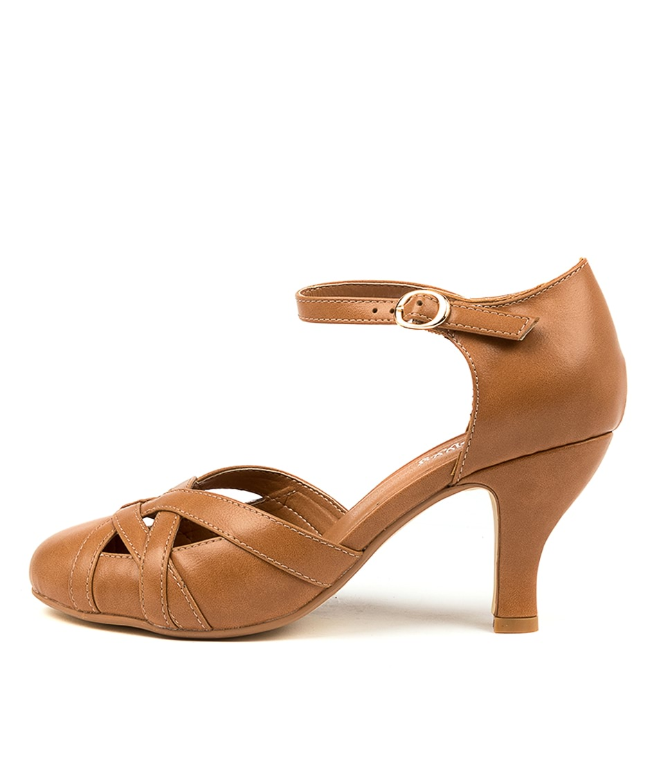 Buy I Love Billy Mojol Il Tan High Heels online with free shipping