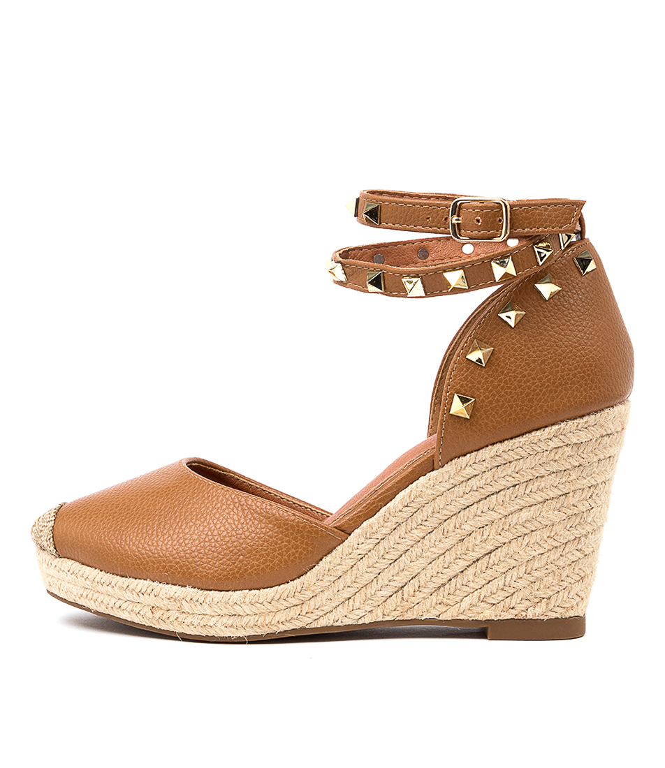 Buy I Love Billy Trinnie Il Tan High Heels online with free shipping