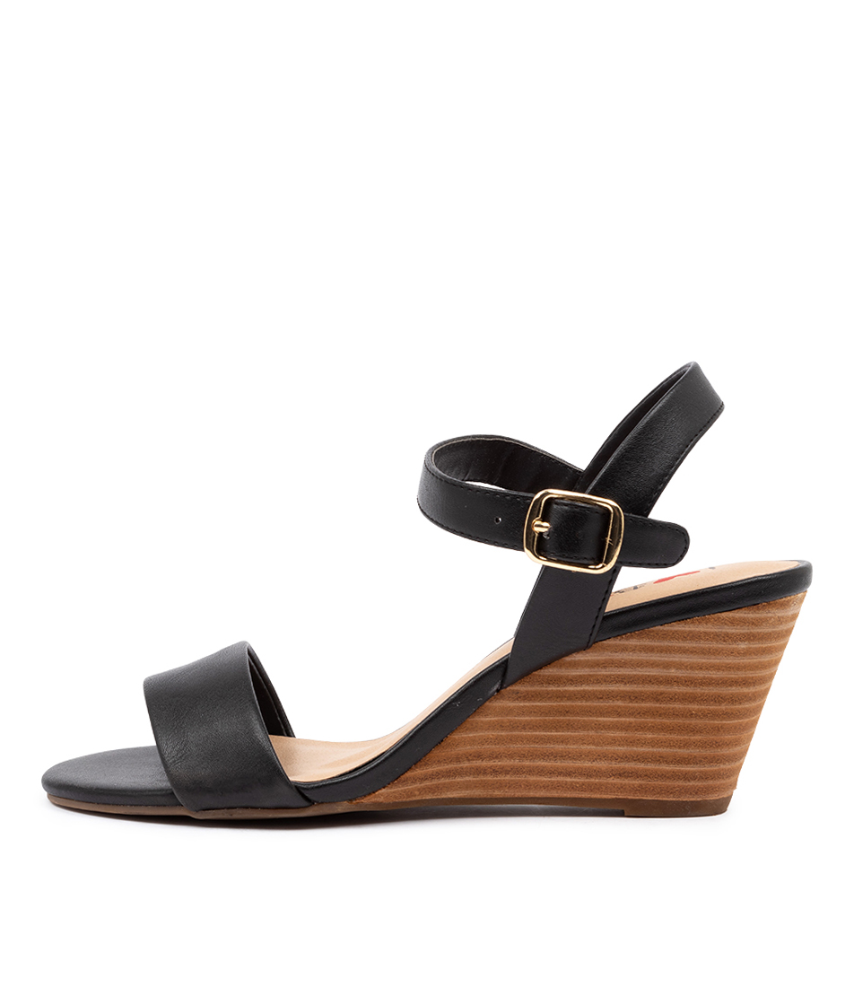 Buy I Love Billy Genna Il Black Heeled Sandals online with free shipping