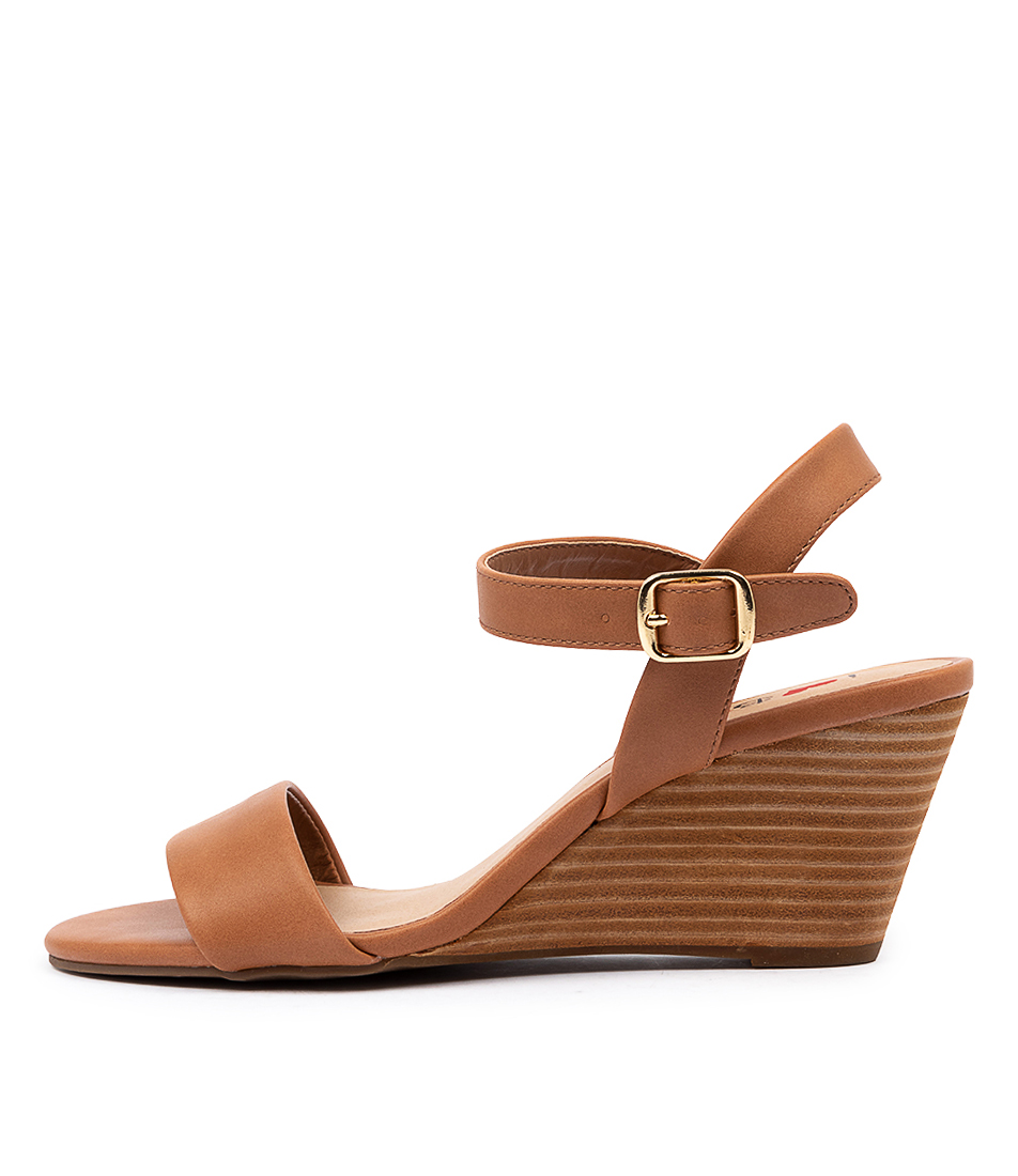 Buy I Love Billy Genna Il Tan Heeled Sandals online with free shipping