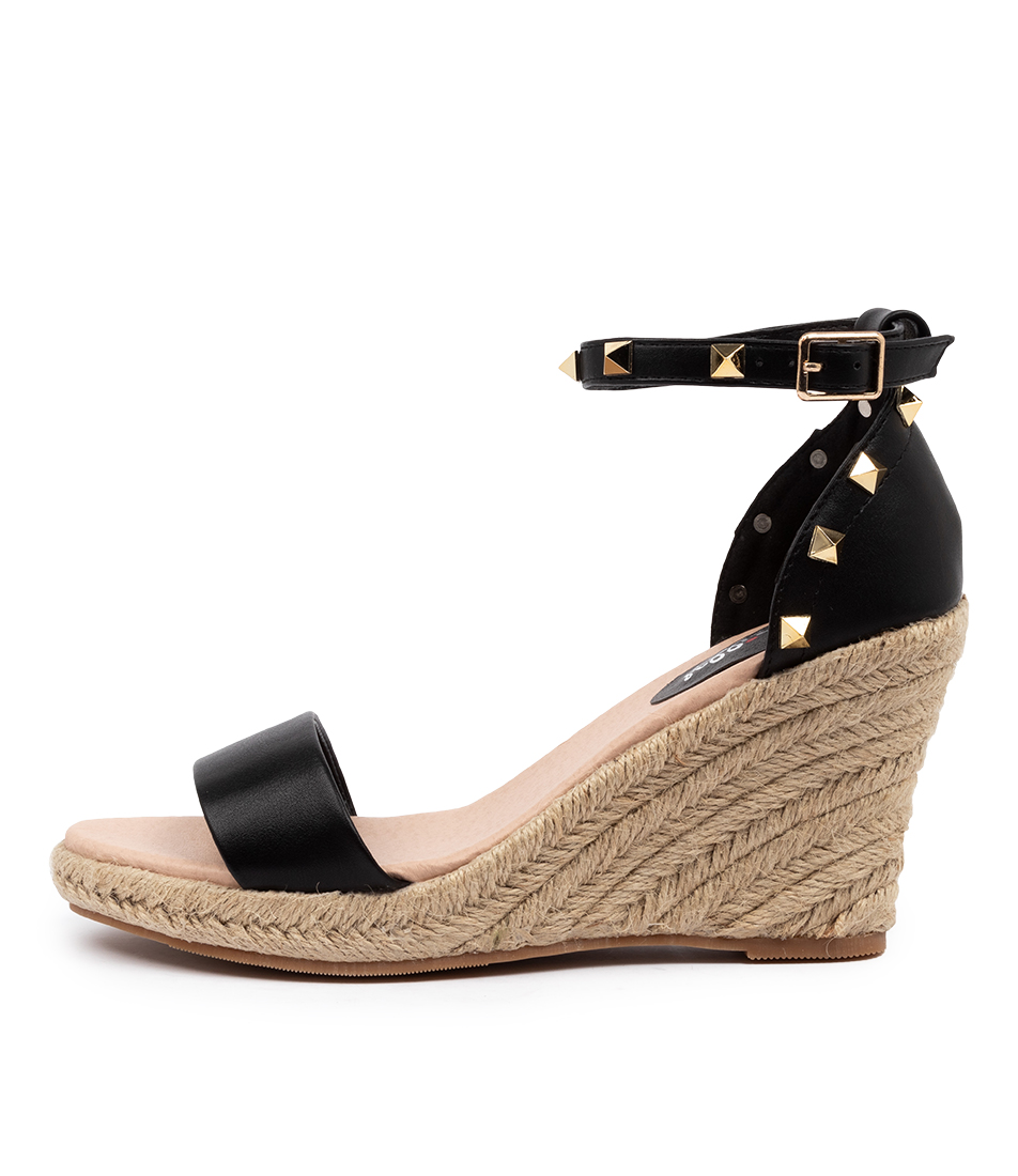 Buy I Love Billy Whirlee Il Black Heeled Sandals online with free shipping