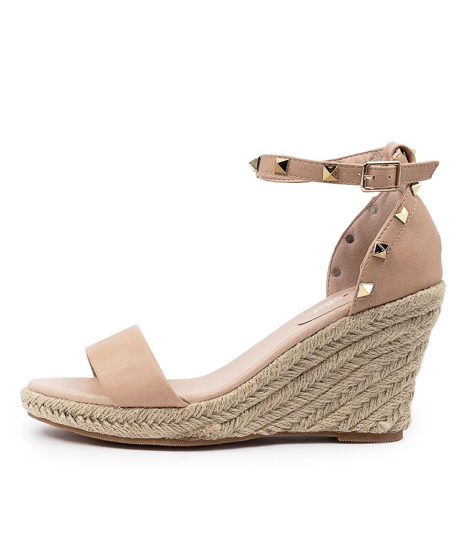 Buy I Love Billy Whirlee Il Nude Heeled Sandals online with free shipping