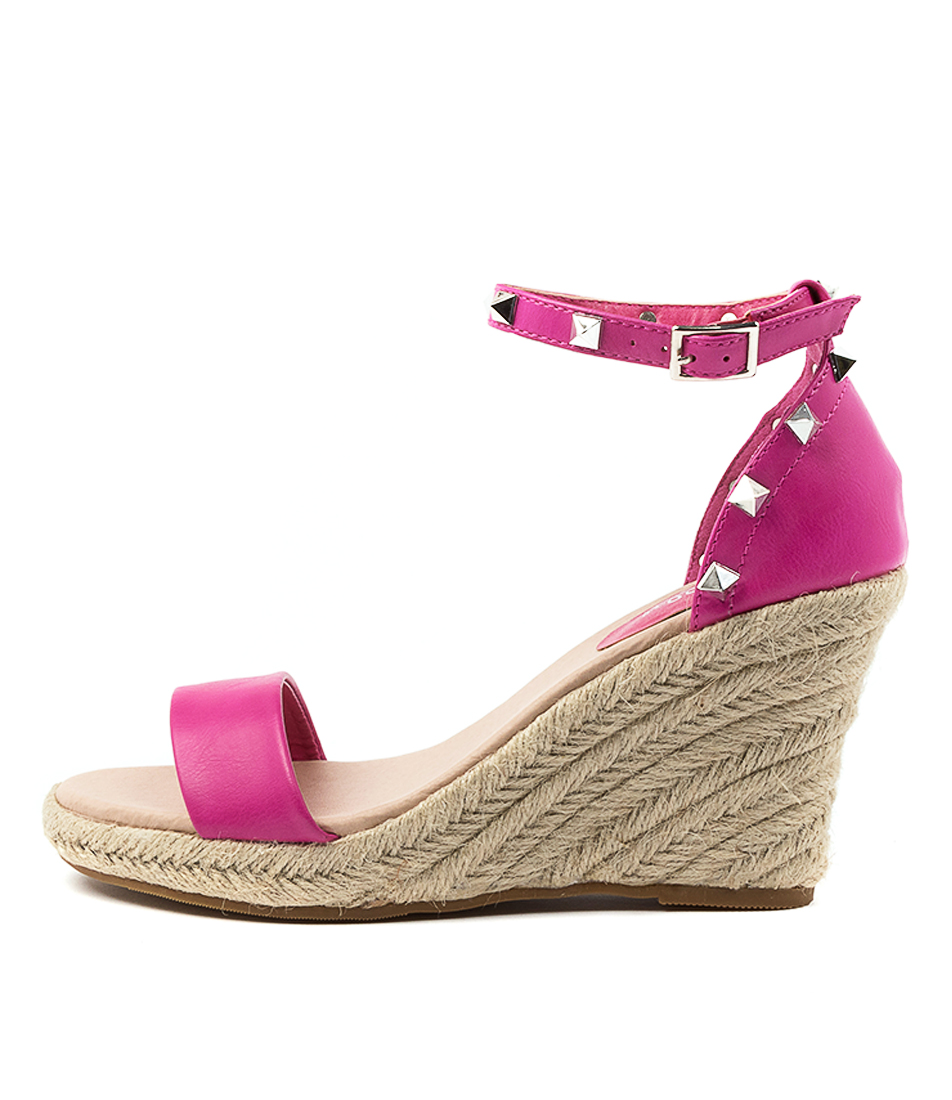 Buy I Love Billy Whirlee Il Fuchsia Heeled Sandals online with free shipping