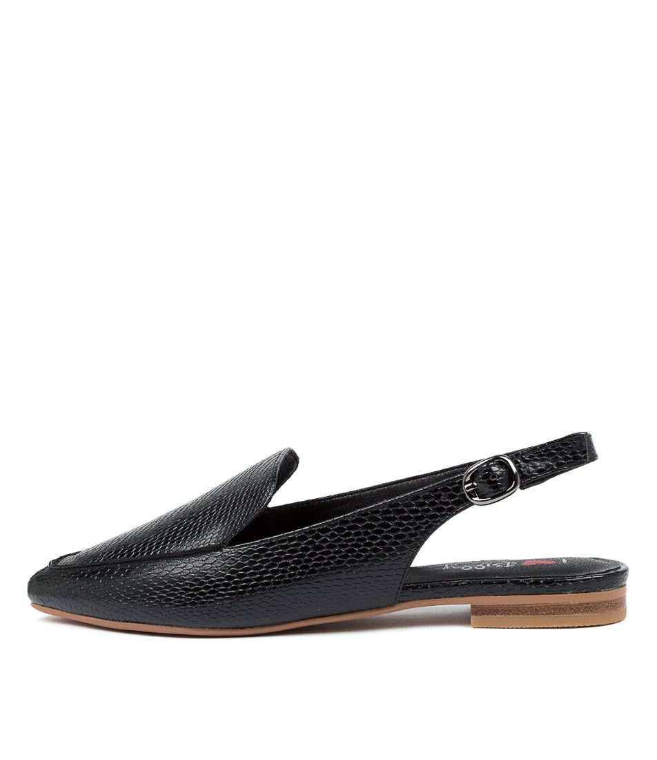 Buy I Love Billy Gramercy Il Black Snake Flats online with free shipping