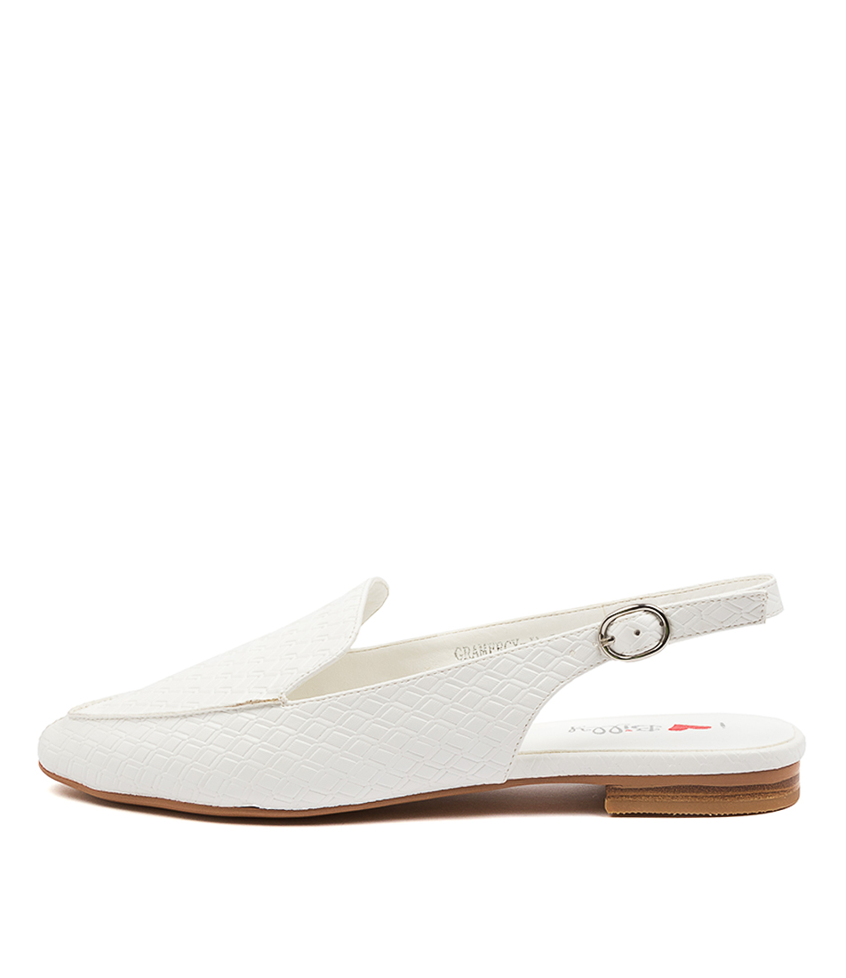 Buy I Love Billy Gramercy Il White Flats online with free shipping