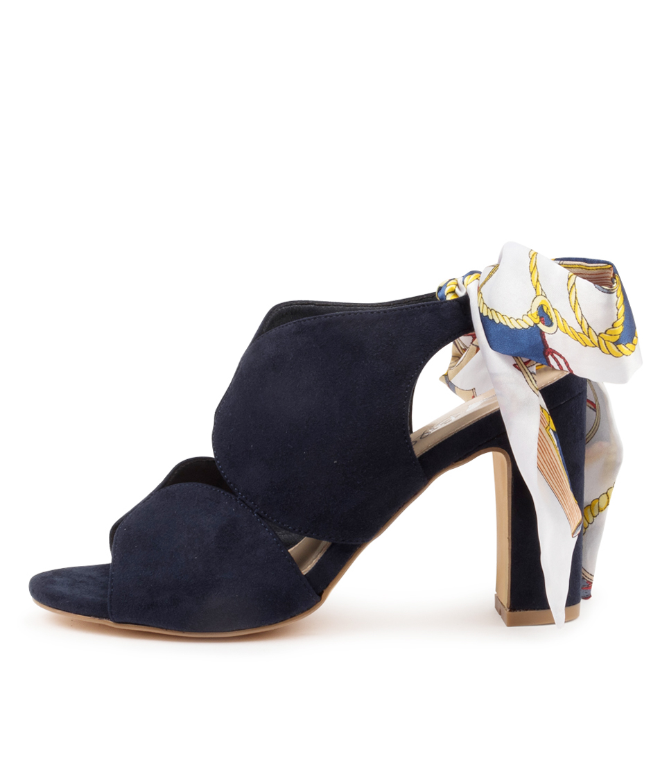 Buy I Love Billy Waive Il Navy Heeled Sandals online with free shipping