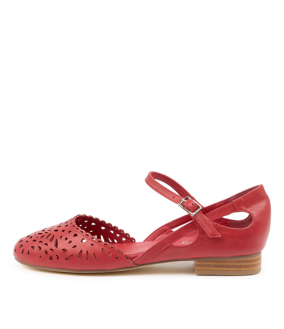 Buy I Love Billy Arigas Il Red Flats online with free shipping