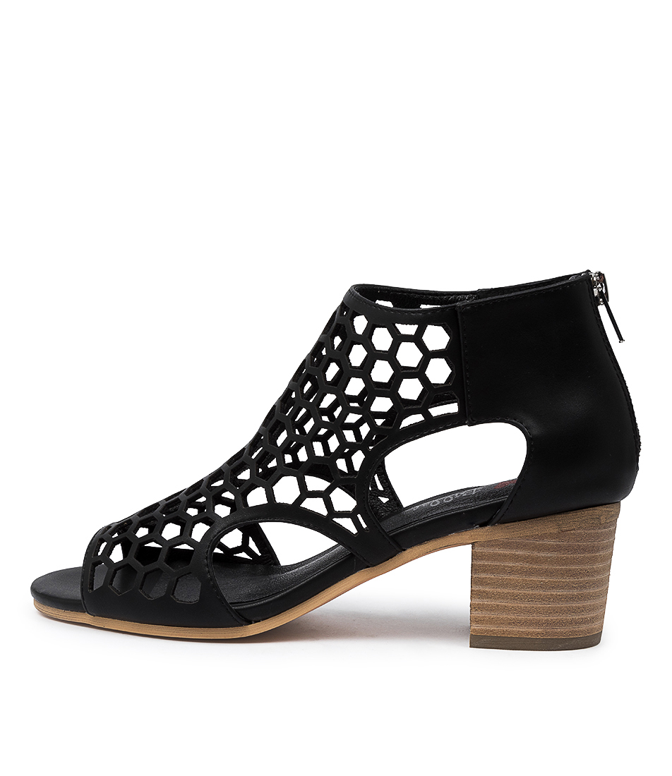 Buy I Love Billy Betterly Il Black Heeled Sandals online with free shipping