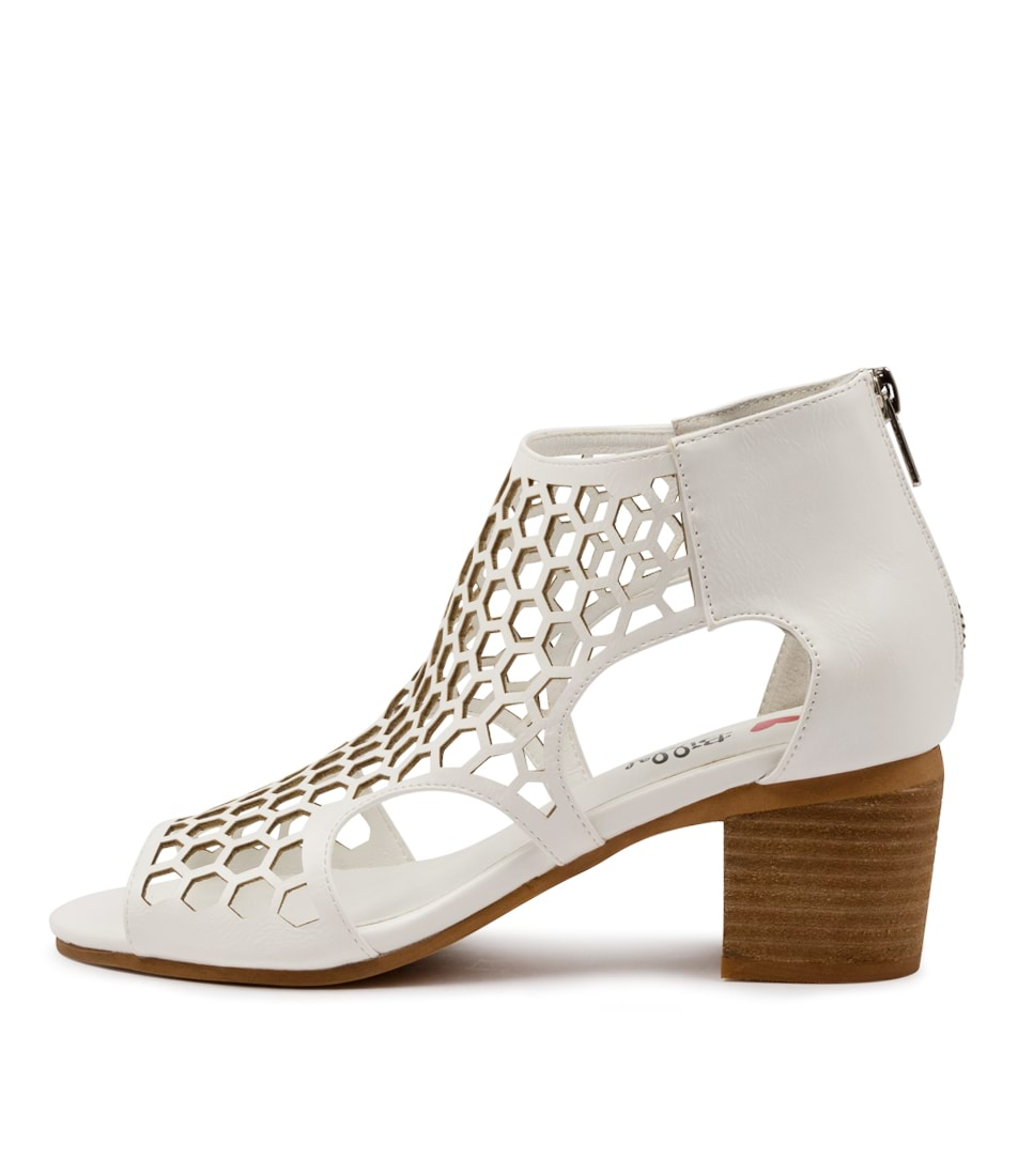 Buy I Love Billy Betterly Il White Heeled Sandals online with free shipping